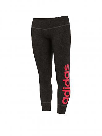 ADIDAS | Damen Leggings Linear | schwarz