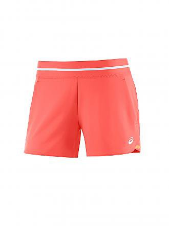 ASICS | Damen Tennisshort Club | rot