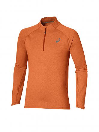 ASICS | Herren Laufshirt 1/2 Zip | orange