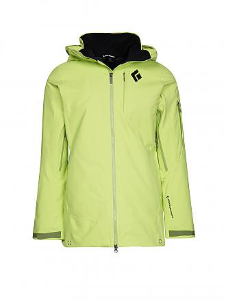 BLACK DIAMOND | Damen Tourenjacke Zone Shell GTX PRL | gelb
