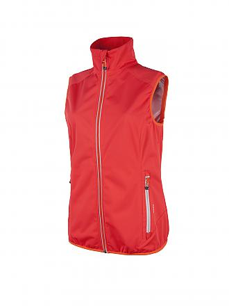 CAMPAGNOLO | Damen Softshellgilet Light | rot