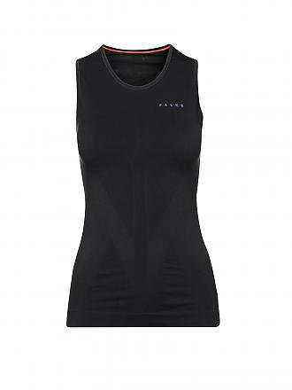 FALKE | Damen Laufsinglet Athletic | schwarz