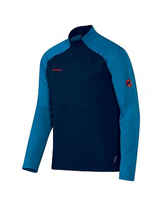 MAMMUT | Herren Funktionsshirt Zip Atacazo Light | blau