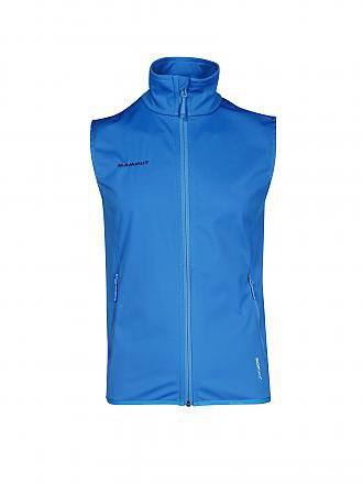 MAMMUT | Herren Softshell-Gilet Clion Advanced SO | blau