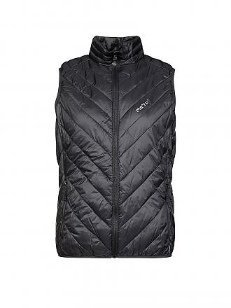 MERU | Damen Isolationsgilet White Rock | schwarz