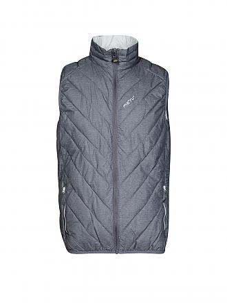 MERU | Herren Isolationsgilet White Rock | grau