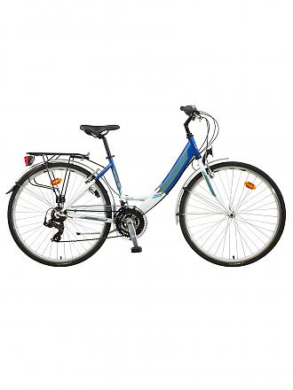 MILES | Trekking-Bike Alpha Lady | blau