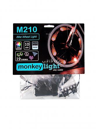 MONKEY LECTRIC | Fahrradlicht Monkey Light M210 | bunt