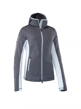 MOUNTAIN FORCE | Damen Unterziehweste Ivy Hoody | grau
