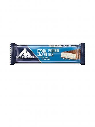 MULTIPOWER | 53% Protein Bar 50g Kokosnuss | blau