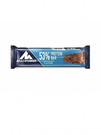 MULTIPOWER | 53% Protein Bar 50g Schokolade | blau