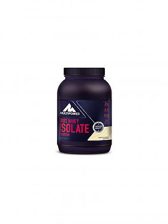 MULTIPOWER | Proteinpulver 100% Whey Isolate Protein 725g French Vanilla | blau