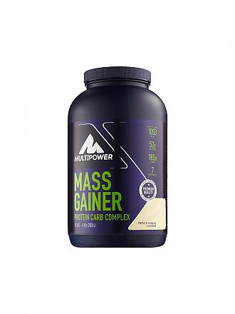 MULTIPOWER | Proteinpulver Mass Gainer 2000g French Vanilla | blau