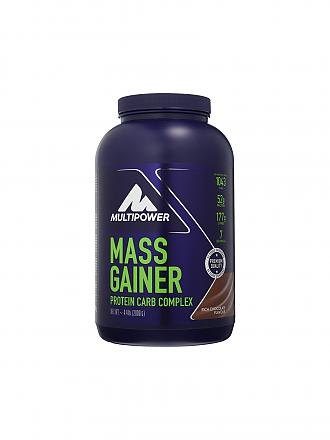 MULTIPOWER | Proteinpulver Mass Gainer 2000g Rich Chocolate | blau