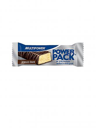 MULTIPOWER | Proteinriegel Power Pack® Classic Dark 35g | silber