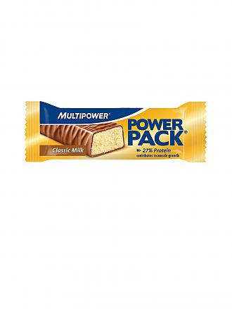 MULTIPOWER | Proteinriegel Power Pack® Classic Milk 35g | gold