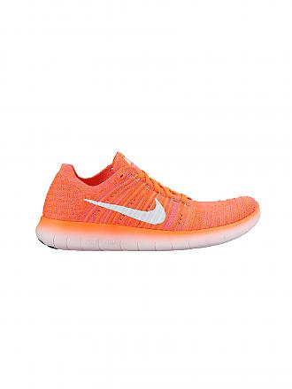 NIKE | Damen Laufschuh Free Run Flyknit | orange