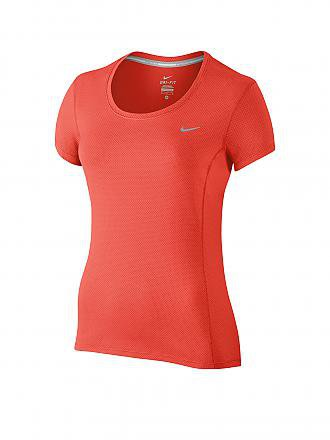 NIKE | Damen Laufshirt Contour | orange