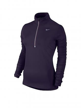 NIKE | Damen Laufshirt Element HZ | lila