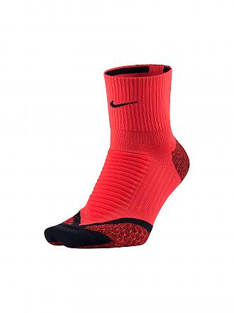 NIKE | Damen Laufsocken Elite Cushion Quarter | rot