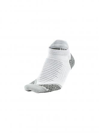 NIKE | Damen Laufsocken Elite Cushioned No-Show Tab | weiß