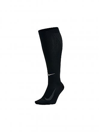NIKE | Damen Laufsocken Elite Lightweight Compression Over-The-Calf | schwarz