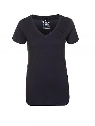 NIKE | Damen Trainings-Shirt | schwarz