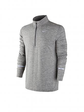 NIKE | Herren Laufshirt Element HZ | grau