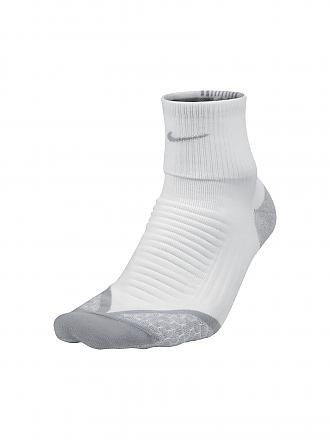 NIKE | Laufsocken Elite Cushion | weiß