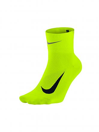 NIKE | Laufsocken Elite Lightweight 2.0 Quarter | gelb