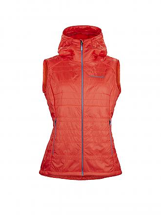 NORRØNA | Damen Gilet Lyngen Alpha 100 | orange
