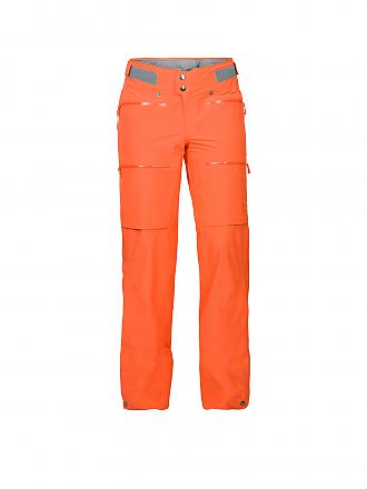 NORRØNA | Damen Tourenhose Lyngen Driflex3 | orange