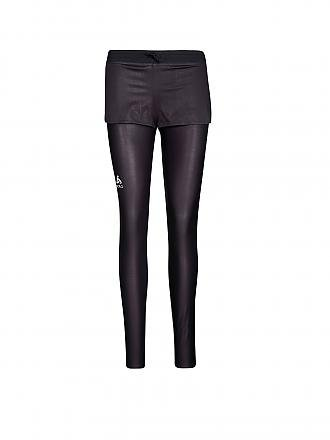ODLO | Damen Lauftight Teroweight Logic | schwarz