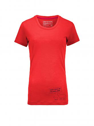 ORTOVOX | Damen Funktionsshirt Merino Cool | orange
