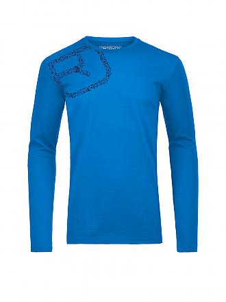 ORTOVOX | Herren Funktionsshirt Equipment Logo M | blau