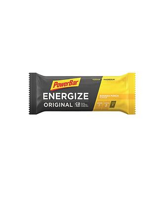 POWER BAR | Energize Riegel Banane 55g | gelb