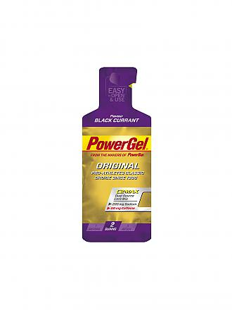 POWER BAR | Power Gel Schwarze Johannisbeere | lila