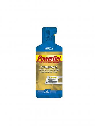 POWER BAR | Power Gel Vanille | blau