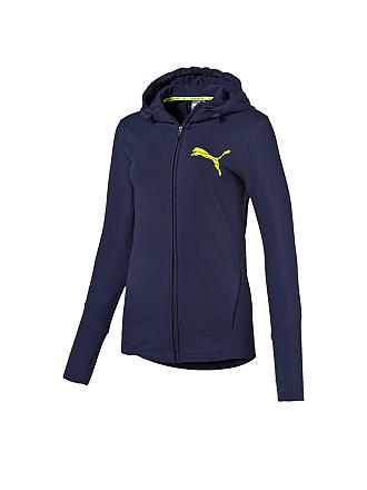 PUMA | Damen Kapuzenjacke Elevated | blau