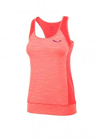 SALEWA | Damen Funktionsshirt Pedroc Dry Tank | orange