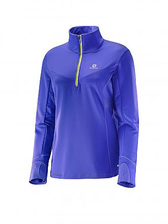 SALOMON | Damen Laufshirt Trail Runner Warm | lila