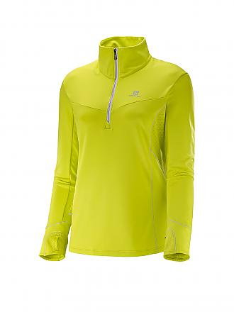 SALOMON | Damen Laufshirt Trail Runner Warm | gelb
