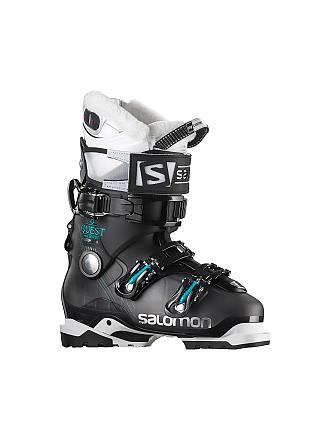 SALOMON | Damen Skischuh Quest Access Custom Heat | schwarz