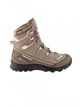 SALOMON | Damen Winterschuh Scory TS CS WP | braun