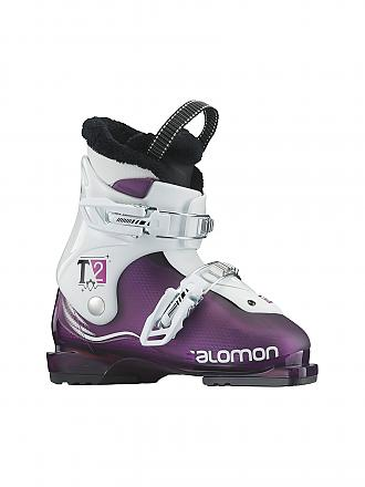SALOMON | Kinder Skischuh T2 Girlie RT | lila