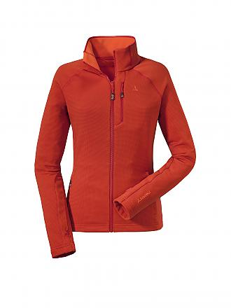 SCHÖFFEL | Damen ZIPIN! Fleece Walsertal | orange