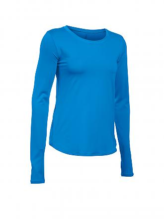UNDER ARMOUR | Damen Laufshirt Fly by | blau