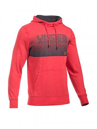 UNDER ARMOUR | Herren Hoody Triblend Wordmark | rot