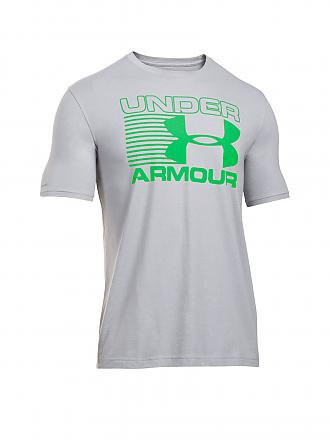 UNDER ARMOUR | Herren T-Shirt Stack Attack | grau