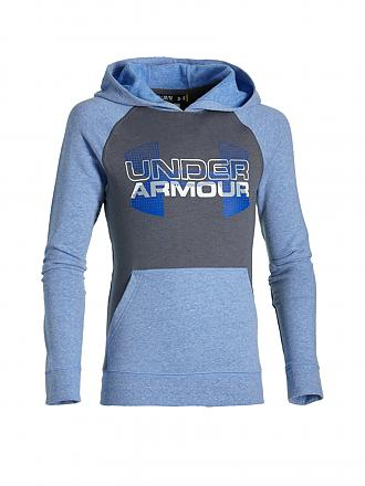 UNDER ARMOUR | Kinder Kapuzensweater | grau